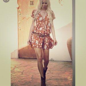 NWOT Spell Designs Gypsy Dancer Babydoll Maple 🍁